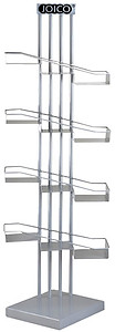 YCC Products Product Display Stand with Step Shelf 30-H1182