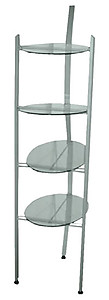 YCC Products Product Display Stand, Round Shelves 30-H1192
