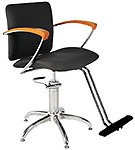 Salon Styling Chairs: 30-H2110BKS