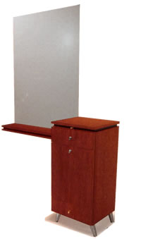 Wall Mounted Salon Styling Stations: 01-4403-54