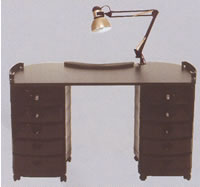 Salon Manicure Tables: 19-2004