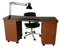 Salon Manicure Tables: 01-5517-60