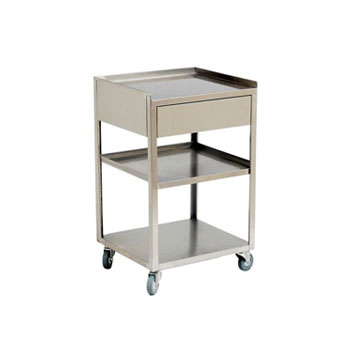 Stainless steel cart: 22-H-11
