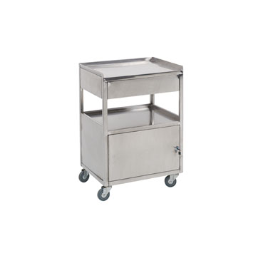 Stainless Steel Cart: 22-H-12