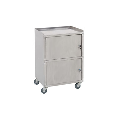 Stainless Steel Cart: 22-H13