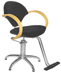 Salon Styling Chairs: 30-H2111BKS