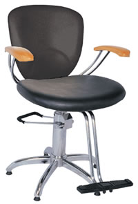Salon Styling Chairs: 30-H2161BKS