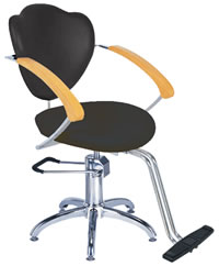 Salon Styling Chairs: 30-H2193BKS