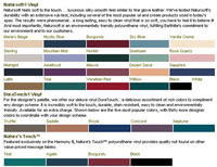 55-Earthlite Upholstery Colors