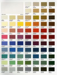 22-Paragon Color Chart